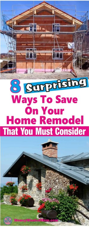 A home remodel is a huge expense but there are things that you can do to cut costs not only on the remodel itself and for years down the road. Read on for some great home remodel tips. Home Remodel | Home Renovation | DIY Home Renovation | Home Repair | Home Renovation on a budget | Home renovation ideas #homerenovation