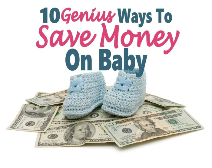 10 Genius Ways To Save Money On Baby ~ Having a baby is really expensive. There are many things that you can do to cut costs. Read on for 10 Genius Tips To Save Money. money   saving money   save money on baby   baby #money #finance #savemoney #saveonbaby