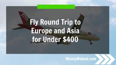 Photo of How to Travel Almost Anywhere for $500 Round Trip – and a $50 Cash Giveaway!