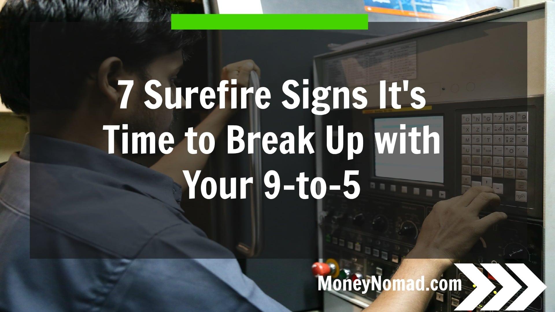 Surefire signs