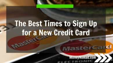 Photo of The Best Times to Sign Up for a New Credit Card