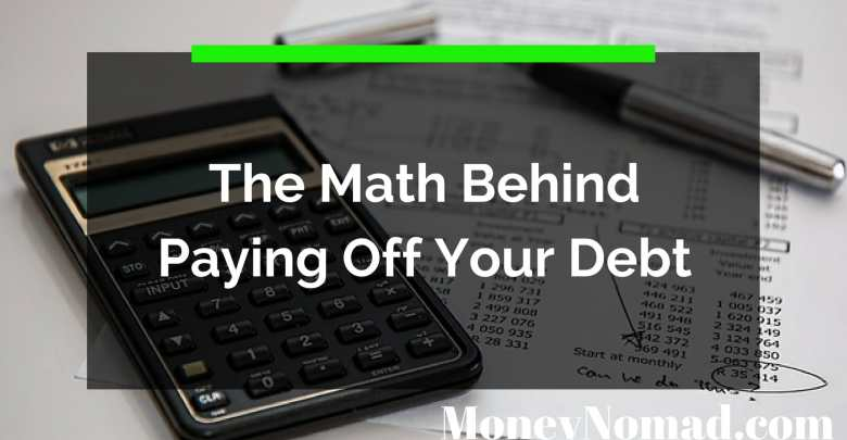 The Math Behind Paying Off Your Debt