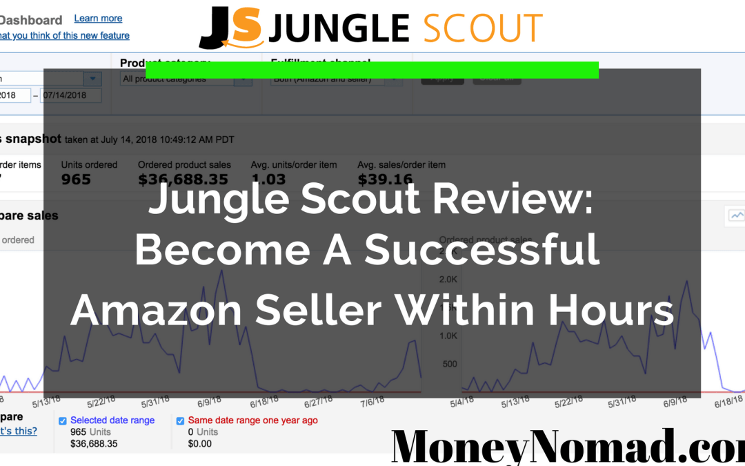 Jungle Scout Review – Actual Amazon Seller Earning Passive Income