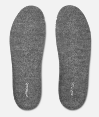 Picture of gray Allbird insoles