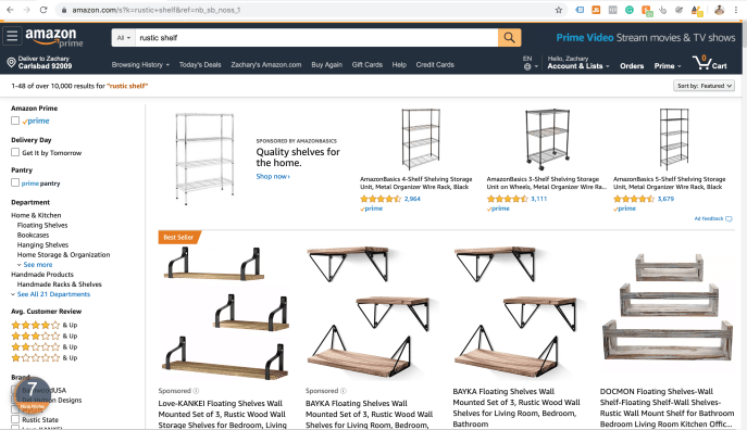 Amazon General Search