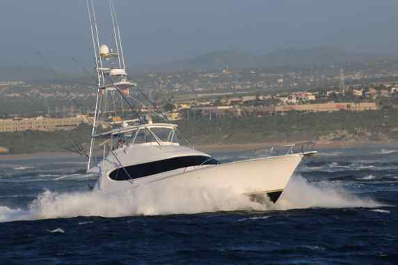 Hatteras Sportfishing Yacht In Cabo San Lucas Mexico