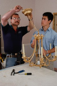 How to Install a Chandelier | The Money Pit