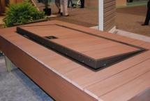 Azek In-deck Storage Kit Safely Stores Outdoor Furniture