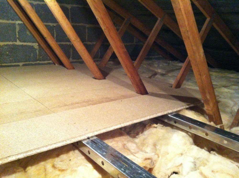 medium resolution of attic spaces are tough to work in since they are outside the living space of your home finding the right attic flooring solution requires special