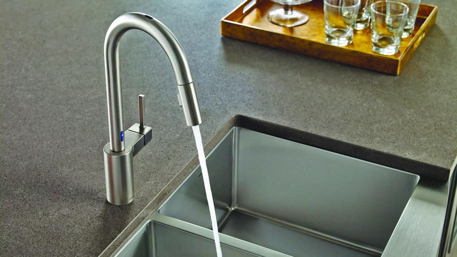 how to fix moen sensor faucet