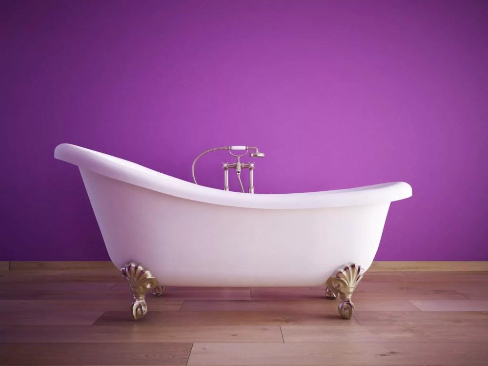 bathtub, paint