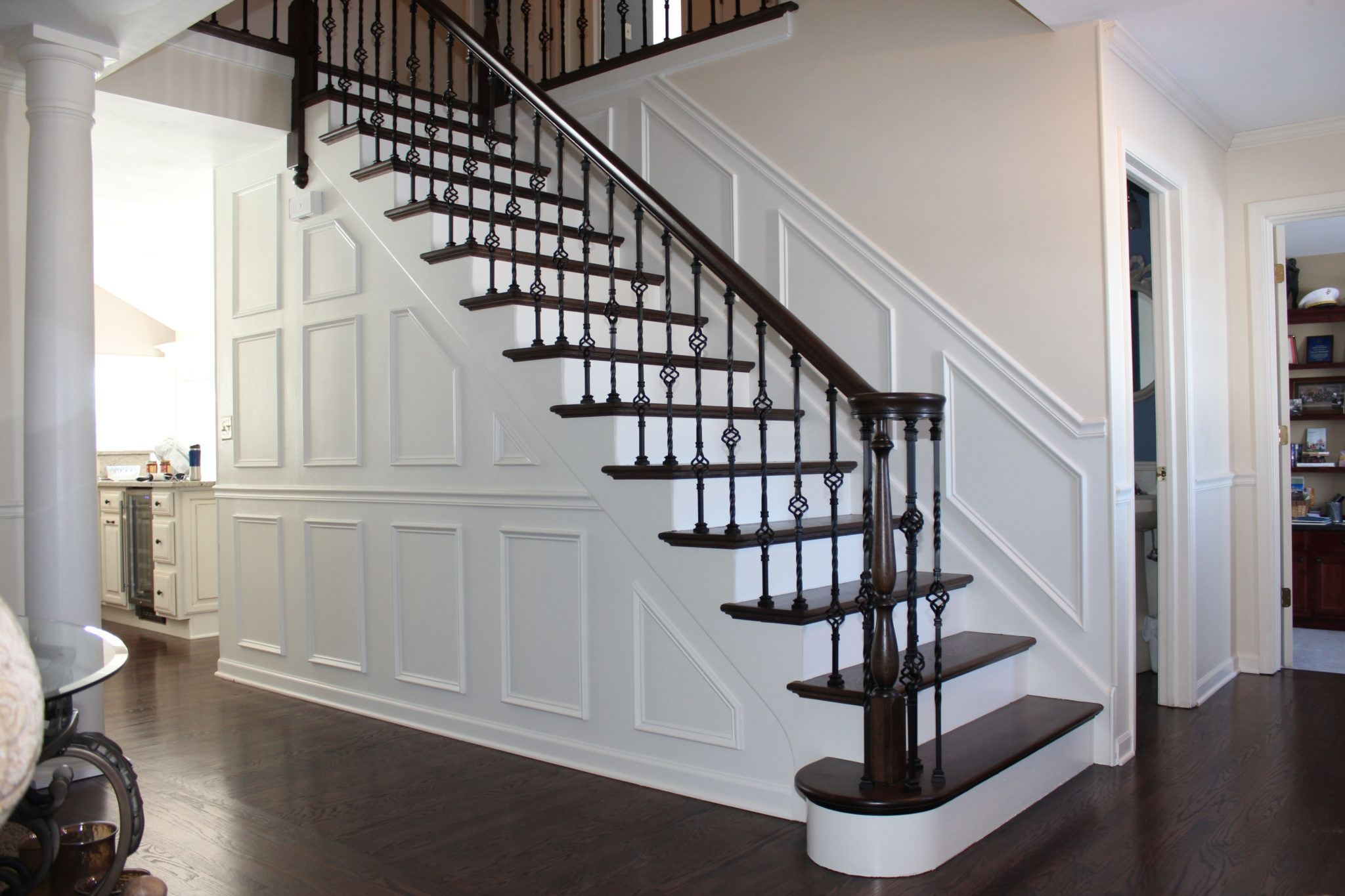 5 Stunning Stairway Trends For Your Home The Money Pit | New Handrail For Stairs | Traditional | Wall Both Side | Contemporary | Mission Style | Wrought Iron