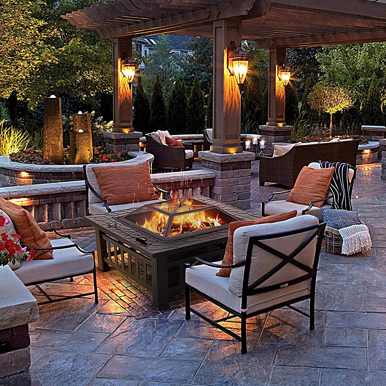 12 best outdoor fire pits under 100