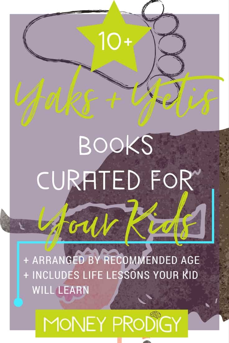 Yaks and Yetis: Exploring Everest for Kids through Books. Would make a fun addition to get kids excited for VBS expeditions! | http://www.moneyprodigy.com/yetis-exploring-everest-for-kids/