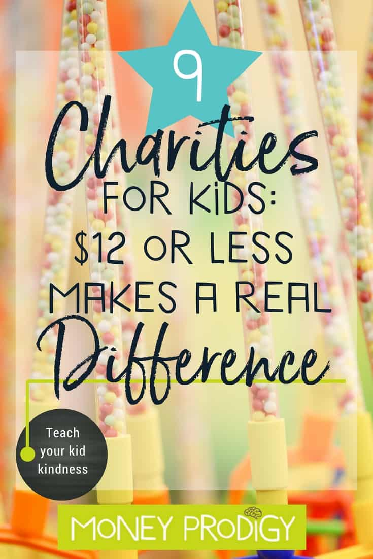 I'm looking for activities to teach kids kindness and help commit acts of kindness for kids. One of the ideas I like is them donating part of their allowance to a charity. #teachkidskindness #kids #randomacts #ideas| https://www.moneyprodigy.com/9-charities-commit-acts-of-kindness-for-kids/