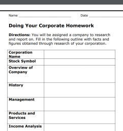 17 Stock Market Worksheets PDFs (Plus Stock Market Lessons) [ 809 x 1065 Pixel ]