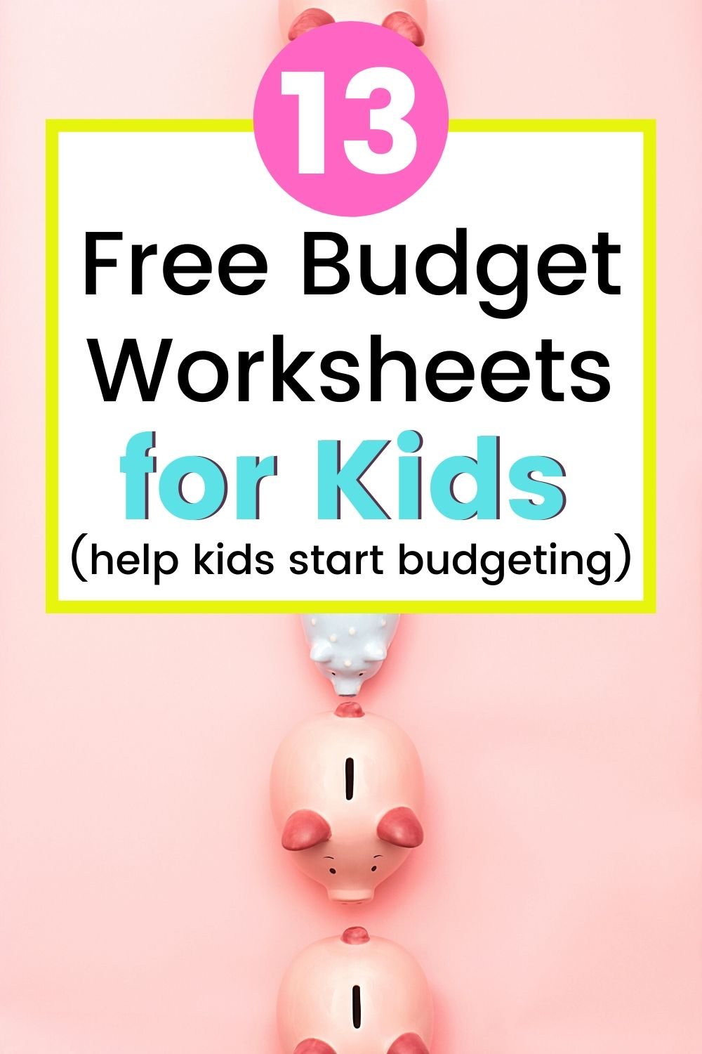 hight resolution of 13 Kid's Budget Worksheets (Plus Sample Budget Template for Teenagers)