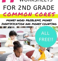 17 Free Money Worksheets for 2nd Grade (PDFs) [ 1102 x 735 Pixel ]