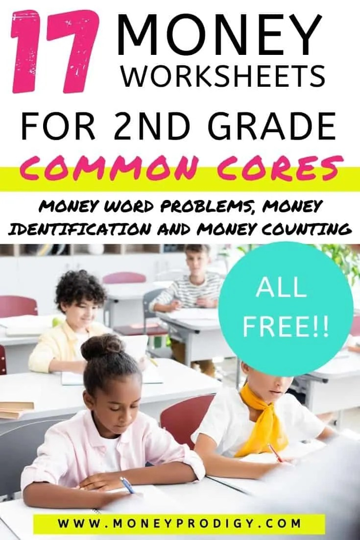 hight resolution of 17 Free Money Worksheets for 2nd Grade (PDFs)