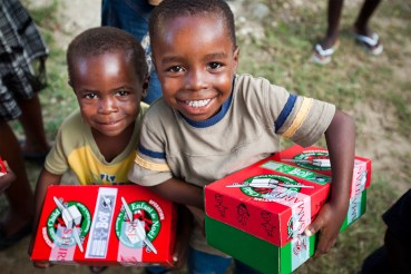 Image result for kids receive christmas gifts