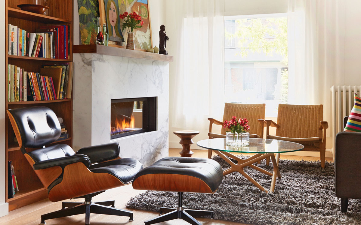 living room decor with hardwood floors decorating ideas for small fireplace revamp on any budget moneysense