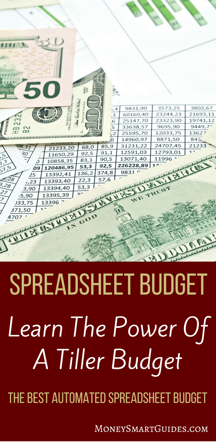 The Simplest Spreadsheet Budget Available   Introducing Tiller ...
