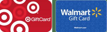 target or walmart gift card