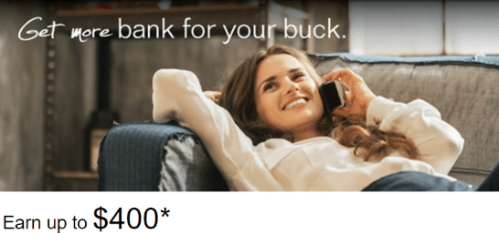 Iberiabank $400 Bonus