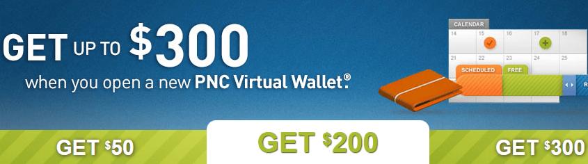 Pnc bank promotions 50 to 300 checking savings business bonuses pnc bank 50 to 300 personal checking bonus reheart Image collections