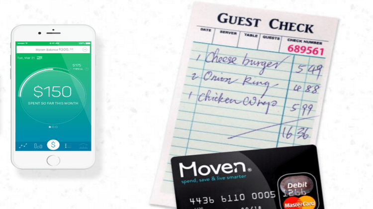 Moven Mobile Bank Account
