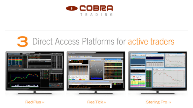 Cobra Trading Review and Promotions: Free Platform Demo