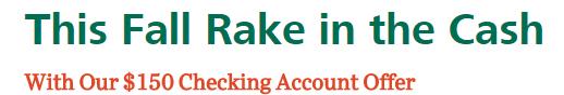 BancorpSouth $150 Checking Bonus