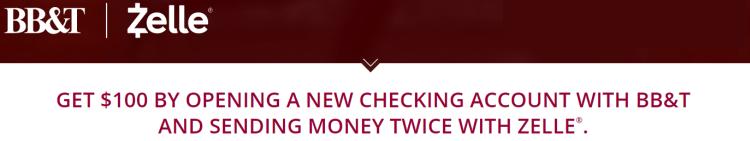 BB&T Checking $100 Bonus