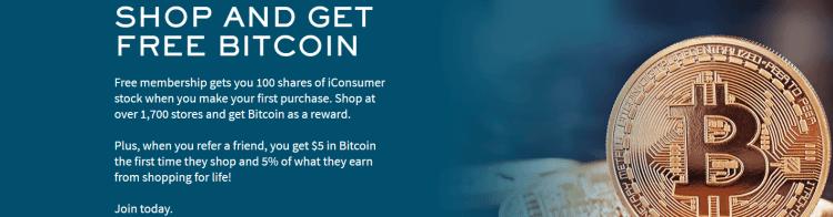 iConsumer $5 Bitcoin Bonus