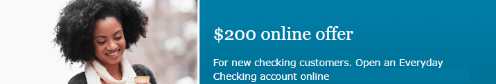 Wells Fargo Everyday Checking $200 Online Bonus