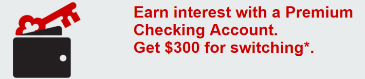 Keybank Checking $300 Bonus