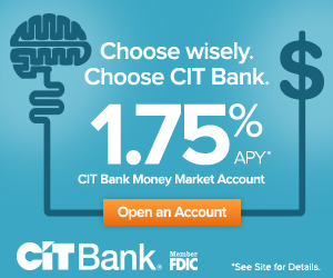 CIT Bank Money Market Promotion 2