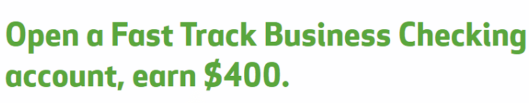 Huntington Bank Fast Track Business Checking $400 Bonus