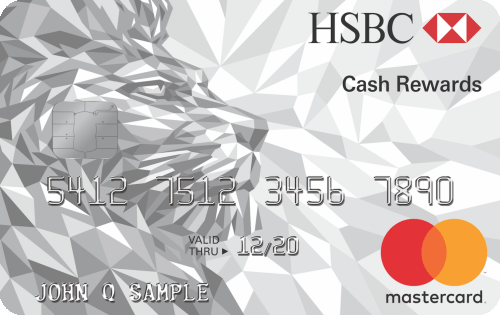 HSBC Cash Rewards Credit Card $150 Bonus