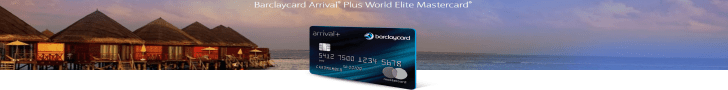 Barclays Arrival Plus 60000 Bonus Miles $630 Value