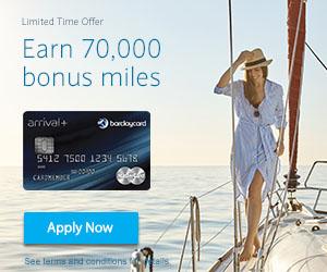 Barclays Arrival Plus Bonus