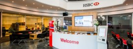 HSBC Branch Lobby
