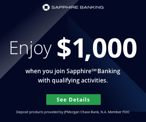 Chase Sapphire℠ Checking