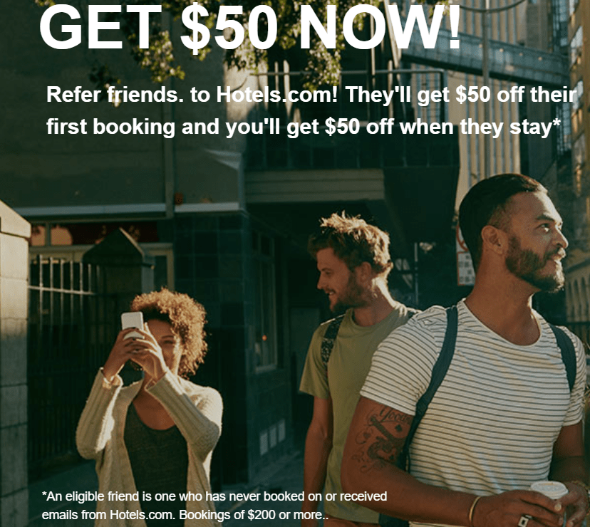 Hotels.com Referral Bonus