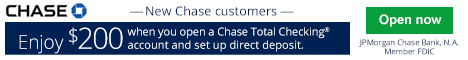 Chase Total Checking Bonus
