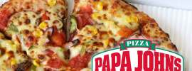 Papa John's Pizza Promotions: 25% Off With Visa Payment