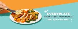 EveryPlate Meal Kit Delivery Promotions: $20 Welcome Bonus & Give $20, Get $20 Referrals