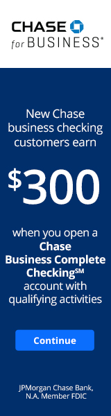 Chase Business $300 Bonus Promotion