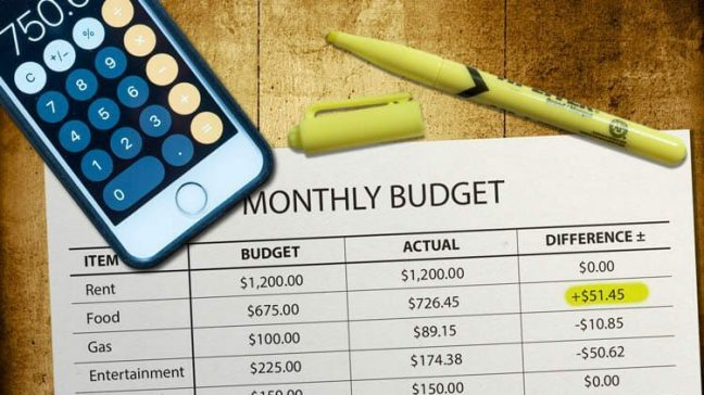 budgeting how to create