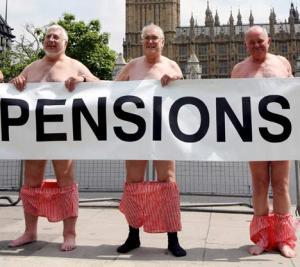 Pension concerns are alarming